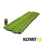 【美國Klymit】STATIC V2 全身睡墊『綠』183x58x6.4cm 吹氣款充氣睡墊.露營充氣床 06S2GR03C