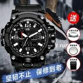 戰狼2同款特種兵手錶多功能防水運動男電子錶學生青少年戶外軍錶 雙十二全館免運
