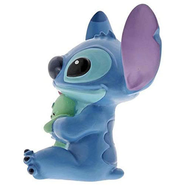 Enesco Disney 迪士尼 史迪奇與醜ㄚ頭迷你塑像_EN14494