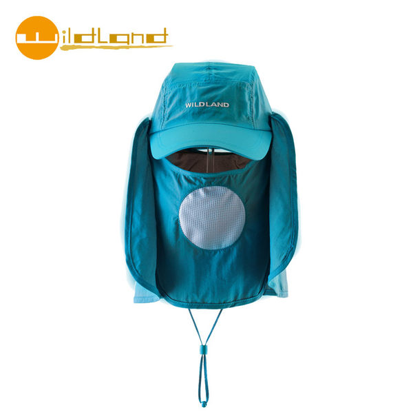 【WildLand 】中性抗UV多功能棒球帽W1005 / 城市綠洲  (UPF30+.防曬.防紫外線.機能帽.吸濕快乾透氣))