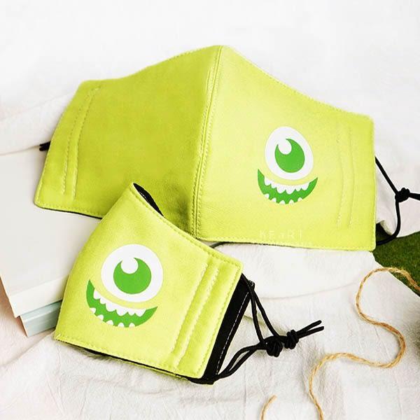 迪士尼親子立體口罩 米妮 布製口罩 兒童口罩