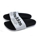 adidas 拖鞋 運動型 白/黑 男鞋 FX4287 no891