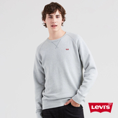 Levis 男款 重磅大學T / 迷你刺繡Logo 布章