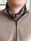 升級加厚男士領口巾