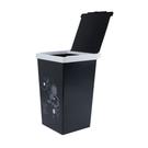 佳斯捷 方程式垃圾桶10L(大) 車用垃圾桶 掀蓋垃圾桶 收納桶 桌上垃圾桶 紙類回收 辦公室台灣製