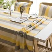 現代簡約茶幾桌布布藝棉麻小清新北歐風格ins餐桌布長方形台布正  9號潮人館