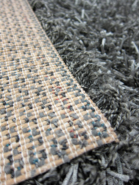 【范登伯格】鑽石☆亮澤長毛混紗地毯-灰-200x290cm