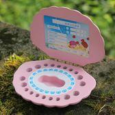 乳牙盒女孩男孩兒童牙齒保存收納寶寶胎發紀念品換牙儲牙盒禮物