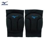 [陽光樂活=] MIZUNO美津濃 加厚型易彎排球護膝 -V2TY810192 黑X水藍