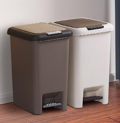 垃圾桶 垃圾桶帶蓋家用廁所衛生間廚房有蓋宿舍腳踩腳踏式客廳創意圾圾桶【快速出貨八折鉅惠】