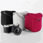 佳能微單相機包15-45 18-55mm單肩保護套