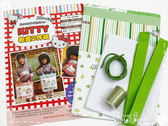 KITTY粉愛兩件組材料包-綠