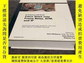 二手書博民逛書店Cisco罕見Voice over Frame Relay, ATM, and IP(精裝英文原版)Y3216