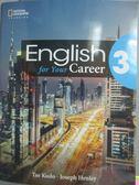 【書寶二手書T3/語言學習_YDQ】English for Your Career (3)_Tae Kudo_附光碟