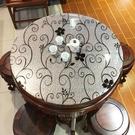 圓桌桌布家用pvc透明餐桌圓形臺布防水防油防燙免洗茶幾墊軟玻璃