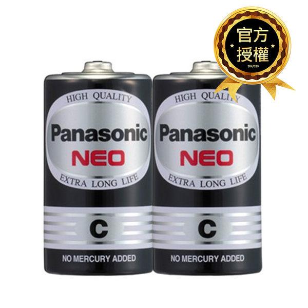 國際牌Panasonic 2號 碳鋅電池 2入