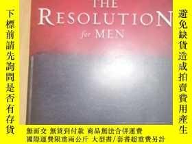 二手書博民逛書店the罕見resolution for menY23609
