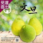 水果爸爸-FruitPaPa 葫蘆墩48年老欉柚子文旦禮盒10台斤*2盒【免運直出】