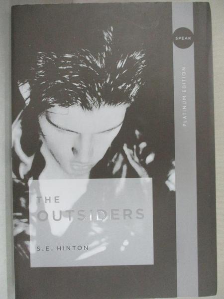 【書寶二手書T1/原文小說_H17】The Outsiders_Hinton, S. E.