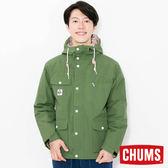 CHUMS 日本 男 Booby Face 登山外套 綠 CH041076M001
