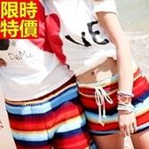 情侶款海灘褲(單件)-防水衝浪鮮豔色彩亮麗焦點男女沙灘褲66z24【時尚巴黎】