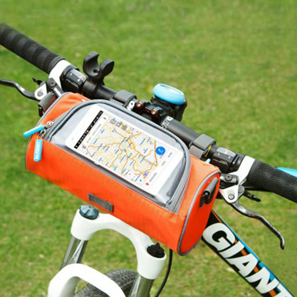 【00047】 多功能手機觸控自行車包 斜背包 腳踏車 單車配件 防水袋 導航