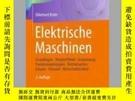 二手書博民逛書店Elektrische罕見MaschinenY405706 Ekkehard Bolte ISBN:9783