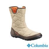 Columbia 女 防水保暖雪鞋-米白色 【GO WILD】