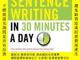 二手書博民逛書店Better罕見Sentence Writing In 30 Minutes A DayY255562 Cam