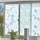 窗戶玻璃貼 仿百葉玻璃貼膜衛生間窗戶貼紙辦公室透光不透明防曬窗貼jy【快速出貨八折搶購】