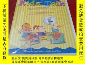 二手書博民逛書店Play罕見with the kids, enjoy the kids play! Kids Talk 【全10