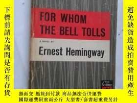 二手書博民逛書店FOR罕見WHOM THE BELL TOLLS【077】英文原版Y10970 Ernest Hemingwa