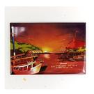 【收藏天地】台灣紀念品*創意特色磁鐵 - 淡水的夕陽 /  旅遊 紀念品 手信 景點
