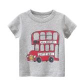 雙層巴士短袖T恤上衣 童裝 T-shirt