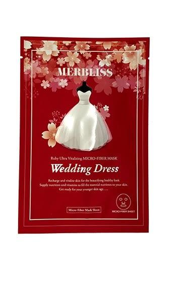 ●魅力十足● 韓國 MERBLISS 婚紗紅寶石活力面膜(單片29g)