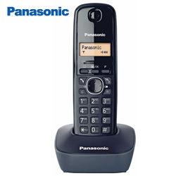 Panasonic 國際牌 數位無線電話 KX-TG1611 黑