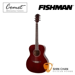 Comet 慧星 C417SE 單板可插電民謠吉他 單板雲杉電木吉他 搭載美國Fishman拾音器(C-417SE)