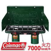【Coleman 美國 6707瓦斯雙口爐 】CM-6707/折疊瓦斯雙口爐/高山瓦斯爐具★滿額送