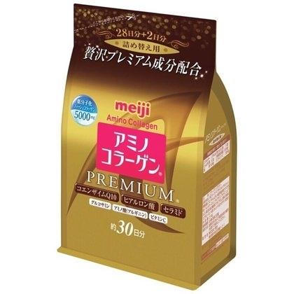 現貨 MEIJI 明治膠原蛋白粉 白金版黃金版 30天補充包