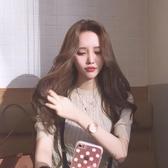 假髮-韓國女生假發中分長劉海長卷發自然蓬松大波浪長發假甜美可愛發套-奇幻樂園