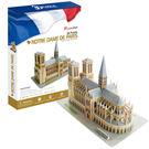 3D Puzzle 立體拼圖 世界建築豪華版-巴黎聖母院(法國)
