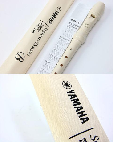 【敦煌樂器】YAMAHA YRS-24B 英式高音直笛 (兩支)