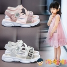 女童涼鞋寶寶夏天鞋子學生涼鞋時尚軟底涼拖鞋【淘嘟嘟】