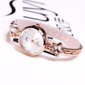手錶女學生石英錶韓版時尚小錶盤手鍊錶韓國