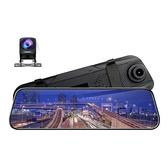 行車記錄儀高清後視鏡流媒體10寸雙鏡頭語音控制夜視dvr【618優惠】