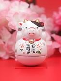 交換禮物2021牛年日式開運桌面生肖吉祥物家居裝飾擺件創意 YJT
