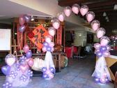 情意花坊北縣永和花店-婚禮會場佈置超低優惠價只要3600元(台北新東南餐廳)