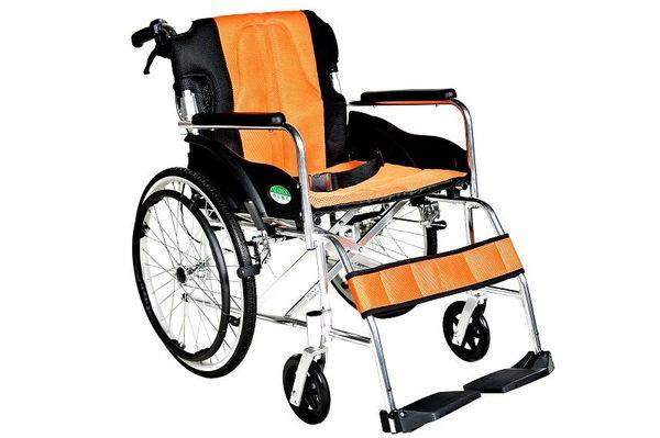 輪椅B款 / 鋁合金輪椅- (中輪背可折)//YC-868/20  贈1 好禮
