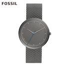 Fossil ESSENTIALIST 霧灰色極簡不鏽鋼鍊錶 男/女 FS5470