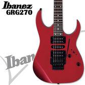 【非凡樂器】Ibanez GRG270 大搖座電吉他入門【吉他高品質首選/法拉利紅/公司貨保固】